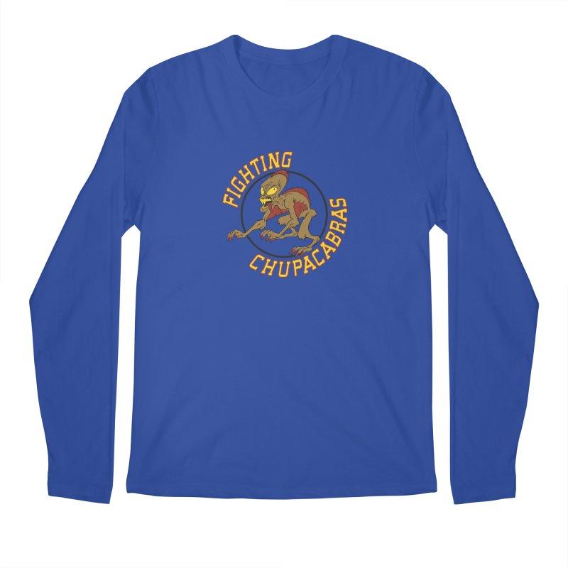 Fighting Chupacabras Men's Regular Longsleeve T-Shirt by bennygraphix's Artist Shop