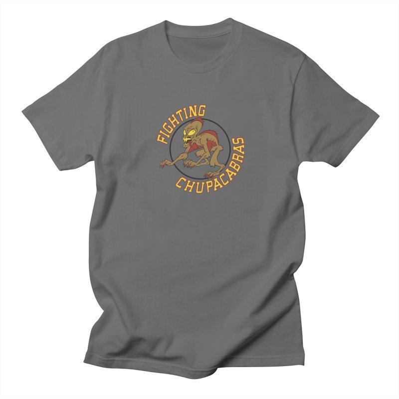 Fighting Chupacabras Men's T-Shirt by bennygraphix's Artist Shop