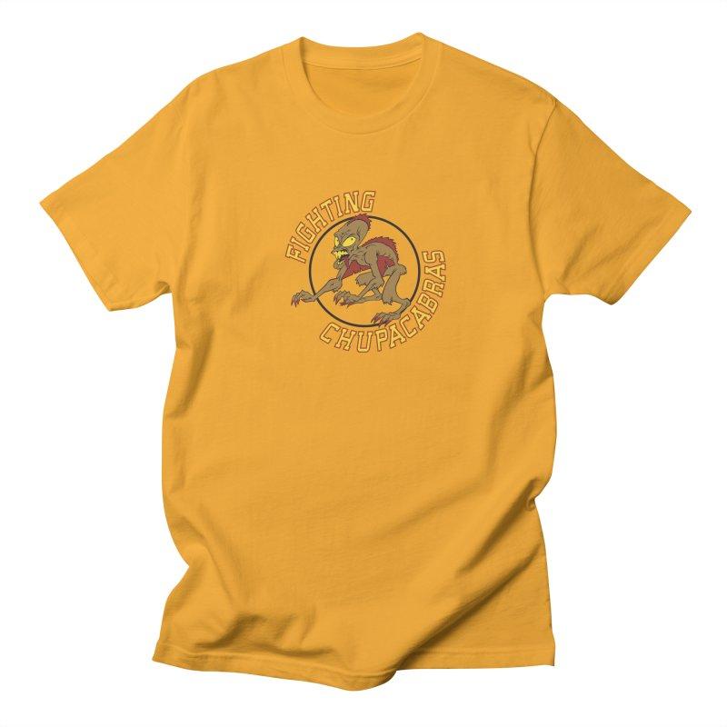 Fighting Chupacabras Women's Regular Unisex T-Shirt by bennygraphix's Artist Shop