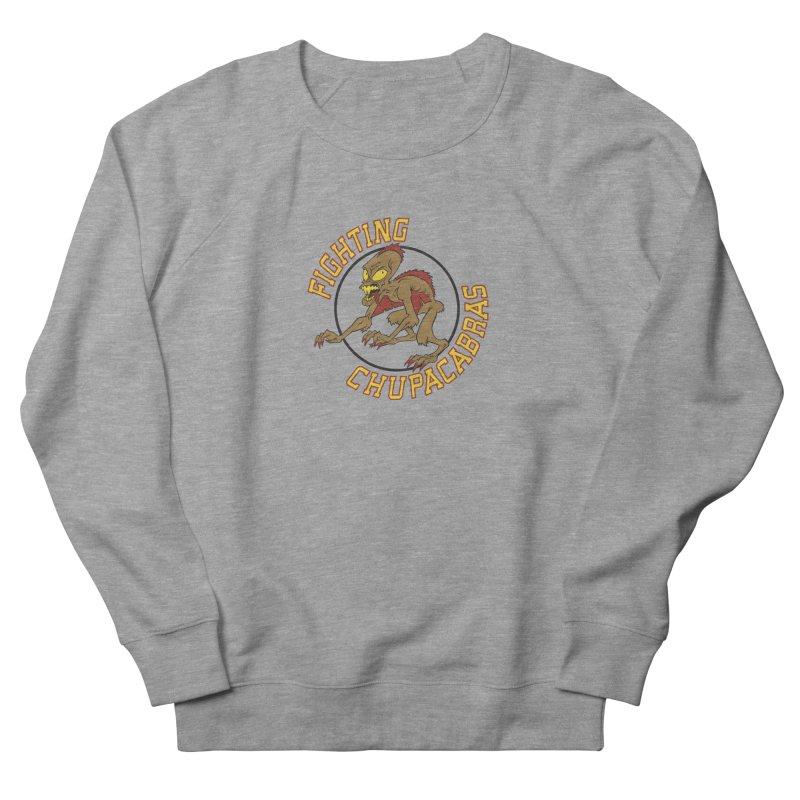Fighting Chupacabras Men's French Terry Sweatshirt by bennygraphix's Artist Shop