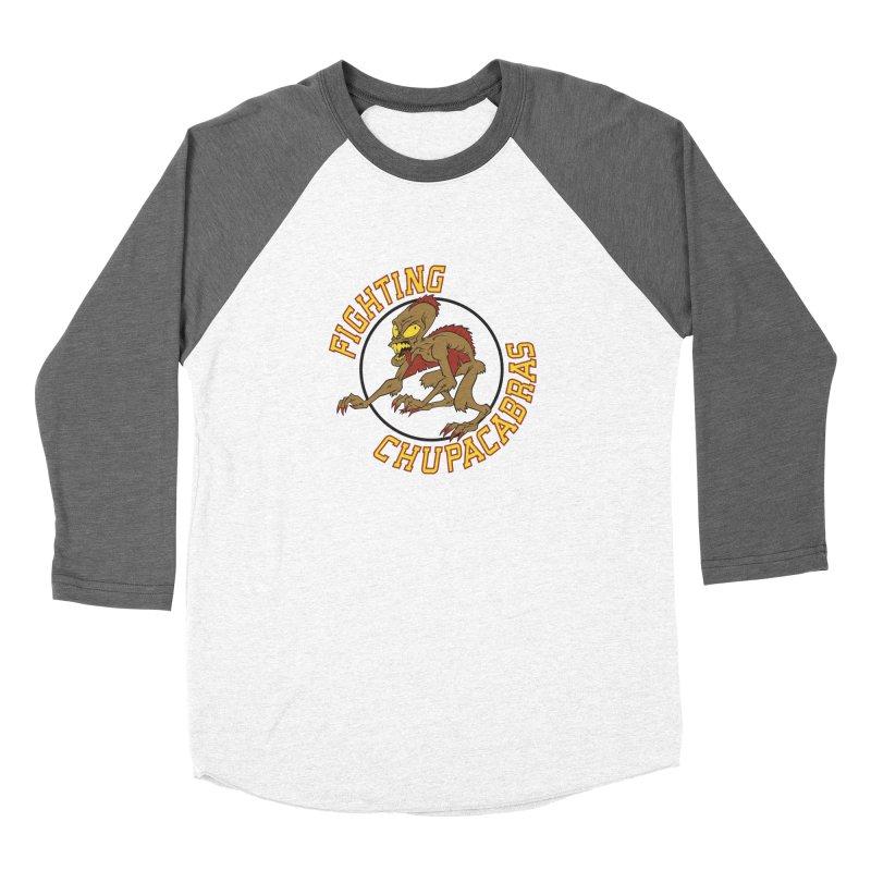Fighting Chupacabras Women's Baseball Triblend Longsleeve T-Shirt by bennygraphix's Artist Shop