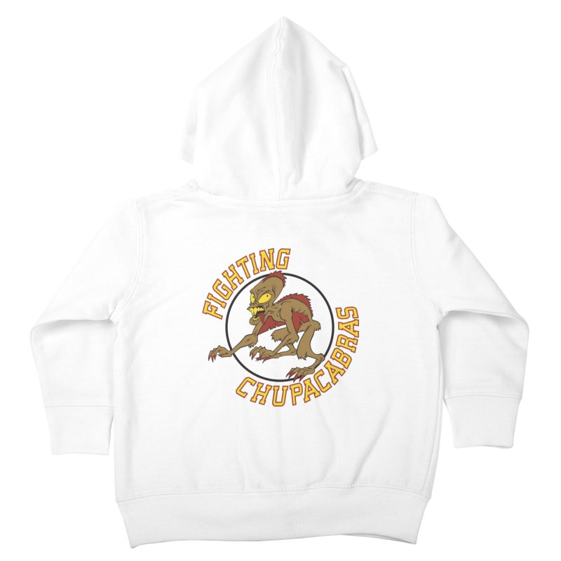 Fighting Chupacabras Kids Toddler Zip-Up Hoody by bennygraphix's Artist Shop