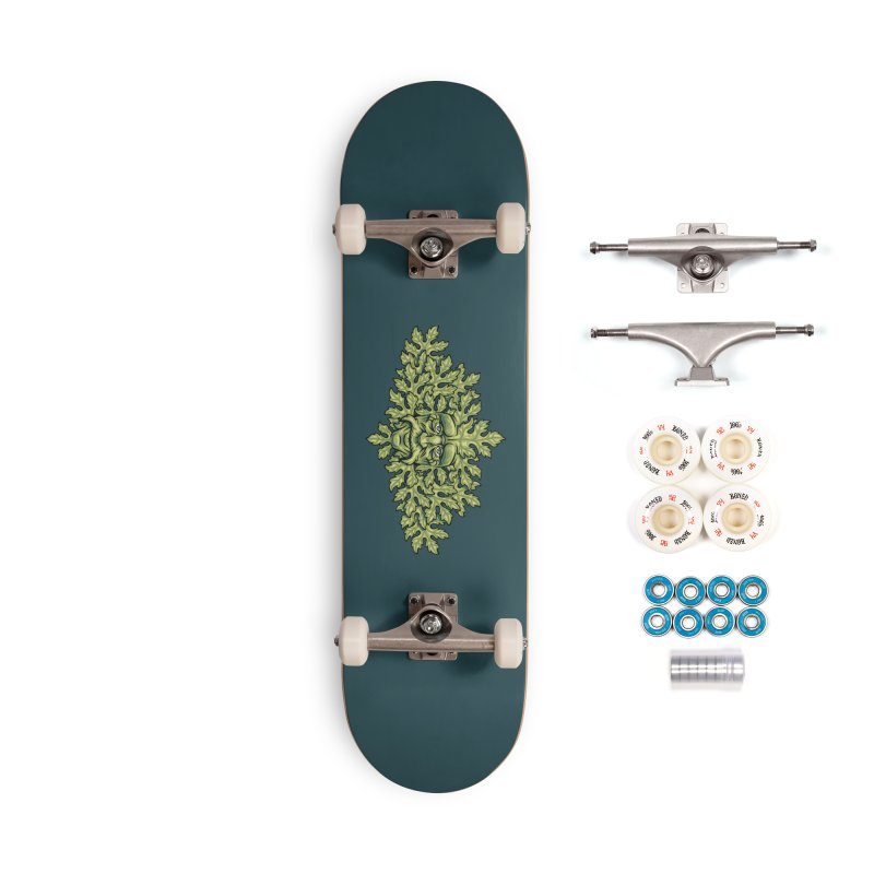 Greenman Accessories Skateboard by bennygraphix's Artist Shop