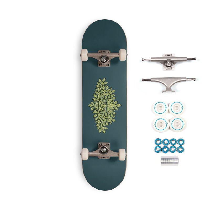 Greenman Accessories Skateboard by bennygraphix's Artist Shop