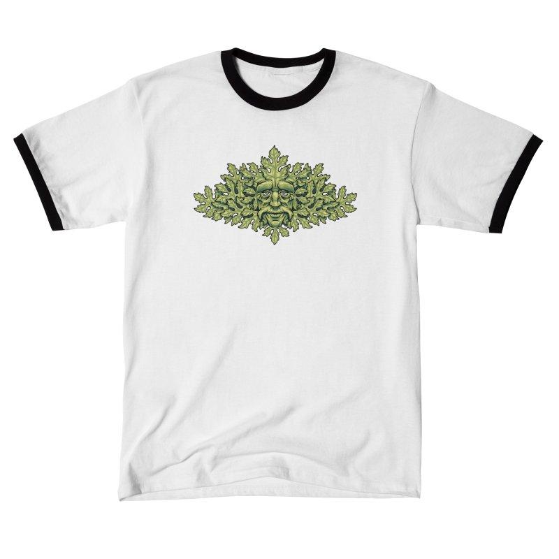 Greenman Men's T-Shirt by bennygraphix's Artist Shop