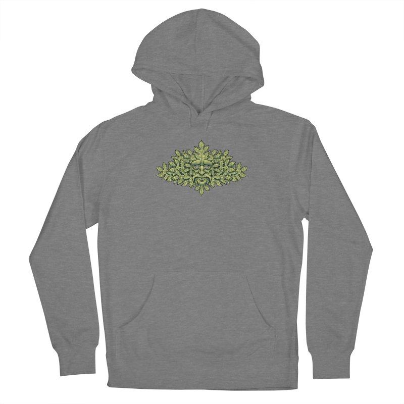Greenman Women's Pullover Hoody by bennygraphix's Artist Shop