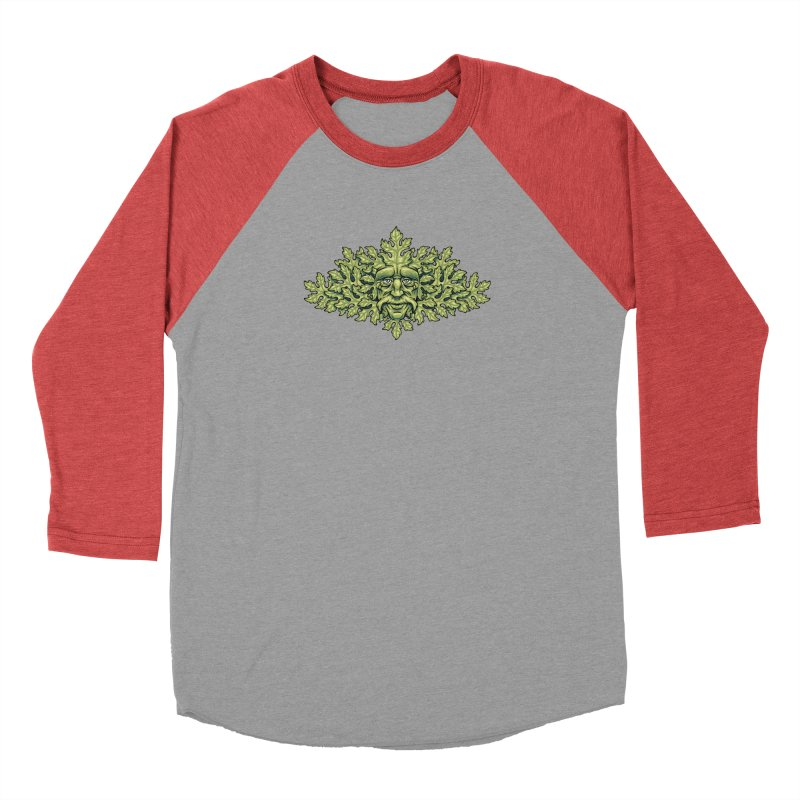 Greenman Men's Longsleeve T-Shirt by bennygraphix's Artist Shop
