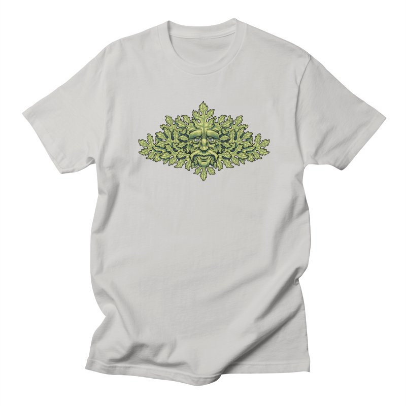 Greenman Men's T-Shirt by bennygraphix's Artist Shop