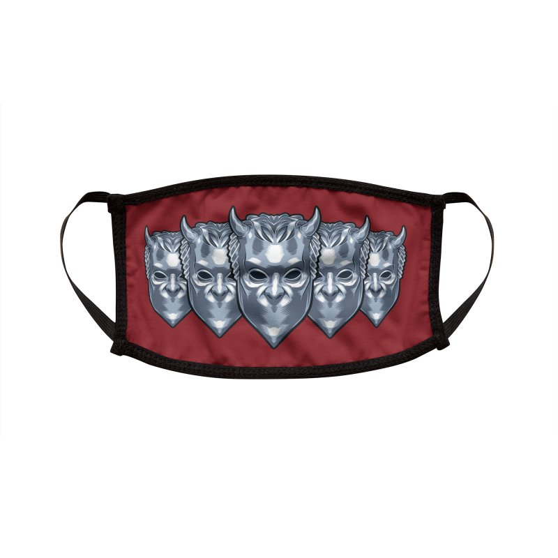 Ghouls Accessories Face Mask by bennygraphix's Artist Shop