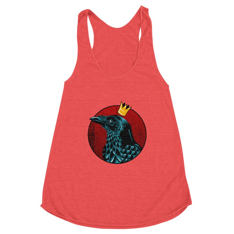 King Crow Women's Tank by bennygraphix's Artist Shop