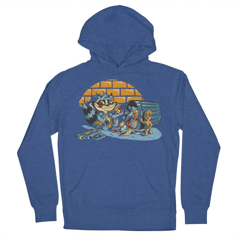 Dumpster Divers Women's French Terry Pullover Hoody by bennygraphix's Artist Shop