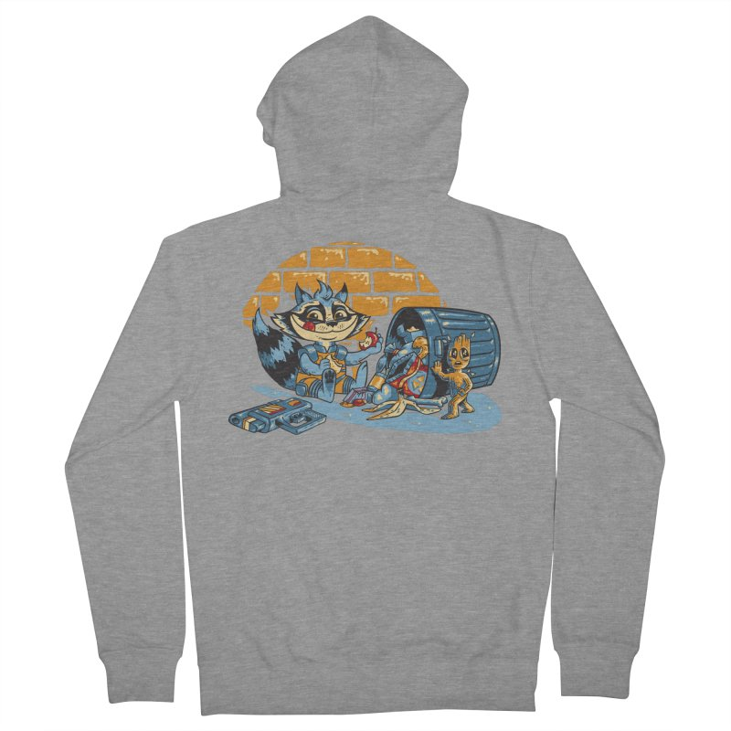 Dumpster Divers Women's Zip-Up Hoody by bennygraphix's Artist Shop