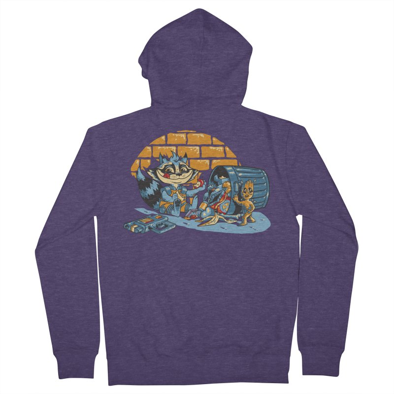 Dumpster Divers Men's Zip-Up Hoody by bennygraphix's Artist Shop