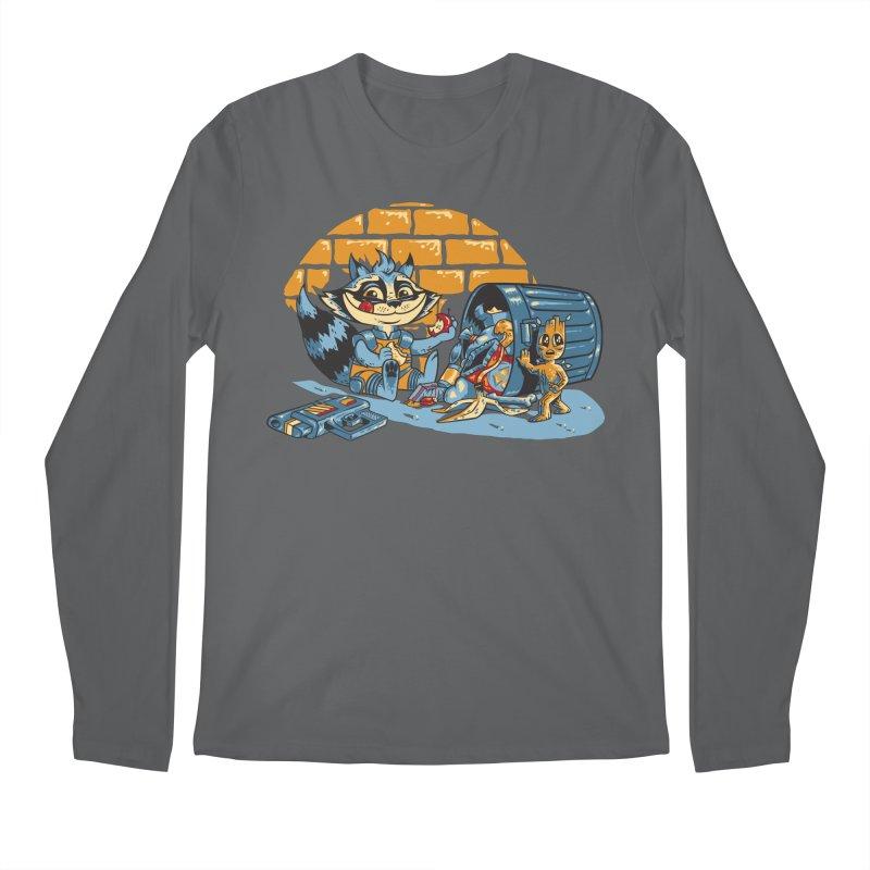Dumpster Divers Men's Longsleeve T-Shirt by bennygraphix's Artist Shop