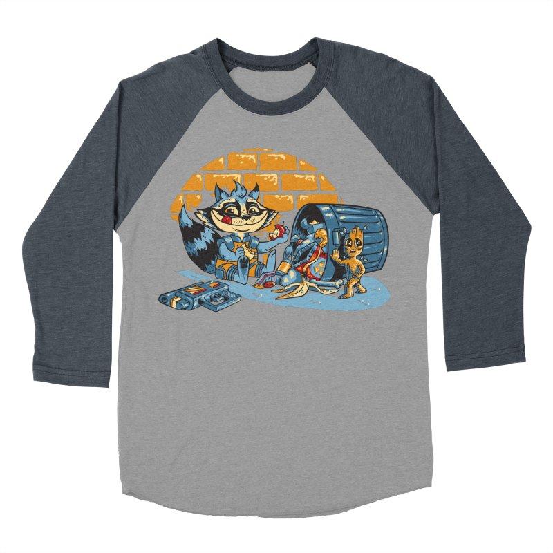 Dumpster Divers Men's Baseball Triblend T-Shirt by bennygraphix's Artist Shop