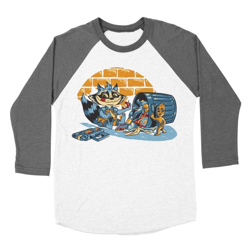 Dumpster Divers Men's Baseball Triblend Longsleeve T-Shirt by bennygraphix's Artist Shop