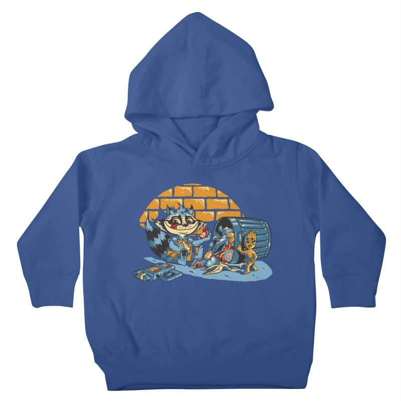 Dumpster Divers Kids Toddler Pullover Hoody by bennygraphix's Artist Shop