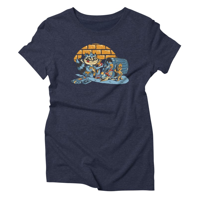 Dumpster Divers Women's Triblend T-Shirt by bennygraphix's Artist Shop