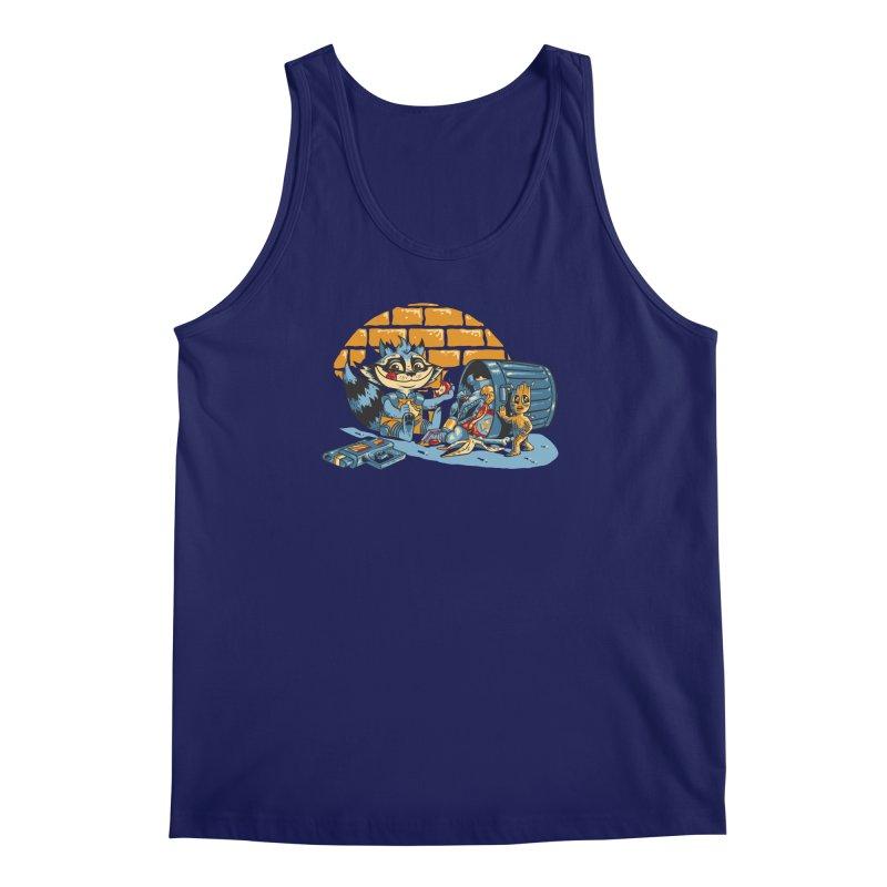 Dumpster Divers Men's Tank by bennygraphix's Artist Shop