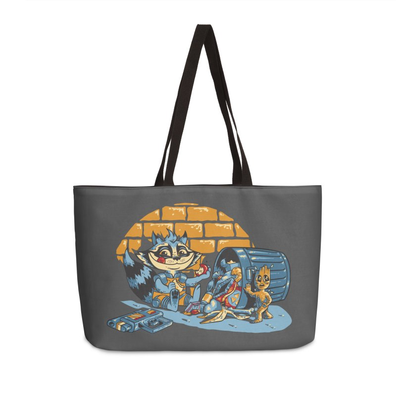 Dumpster Divers Accessories Weekender Bag Bag by bennygraphix's Artist Shop