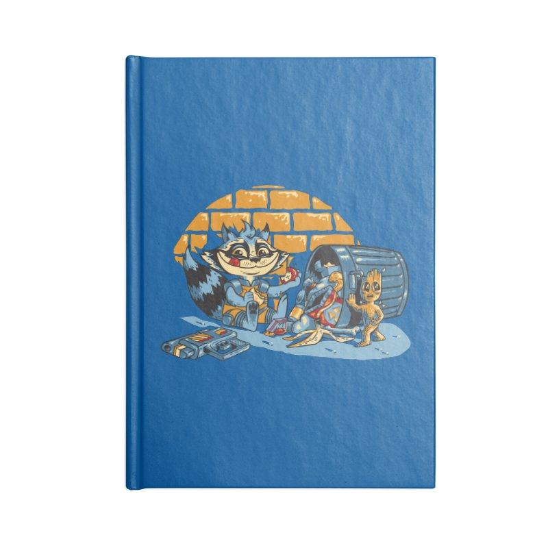 Dumpster Divers Accessories Notebook by bennygraphix's Artist Shop