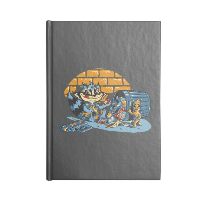 Dumpster Divers Accessories Lined Journal Notebook by bennygraphix's Artist Shop