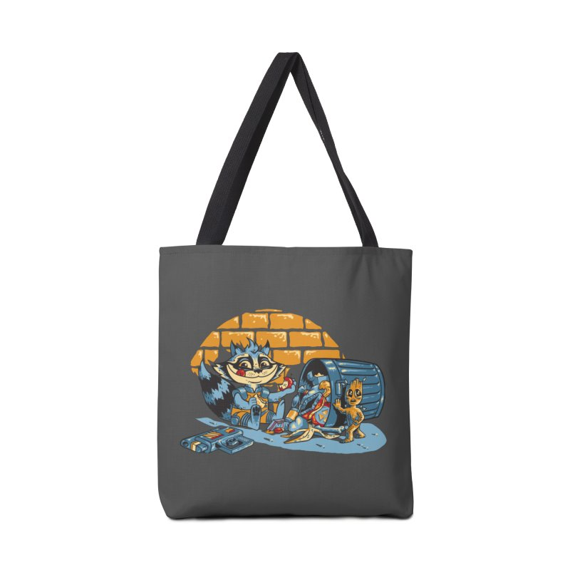Dumpster Divers Accessories Tote Bag Bag by bennygraphix's Artist Shop