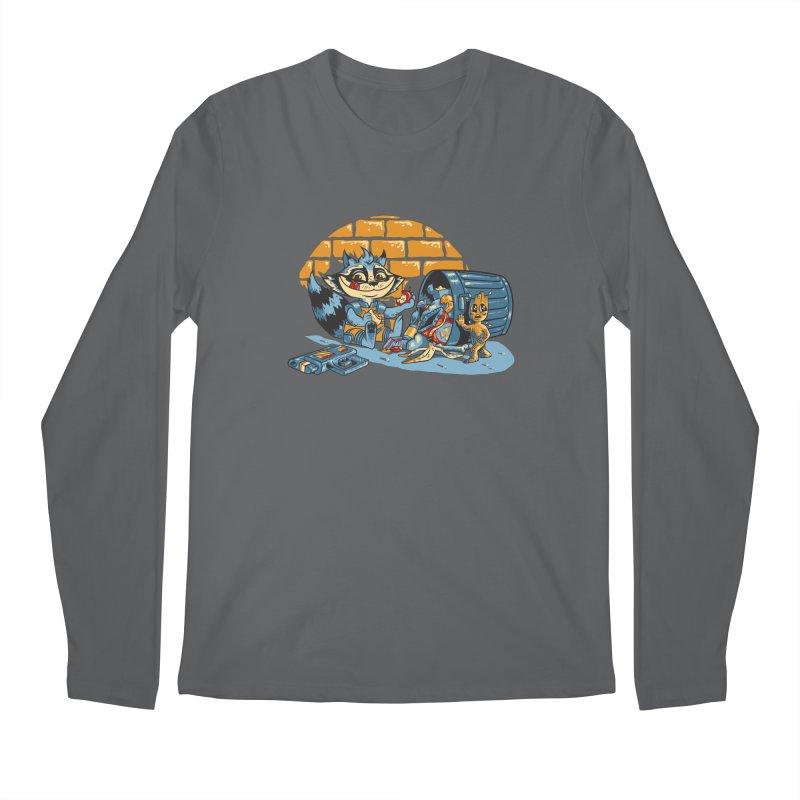 Dumpster Divers Men's Regular Longsleeve T-Shirt by bennygraphix's Artist Shop