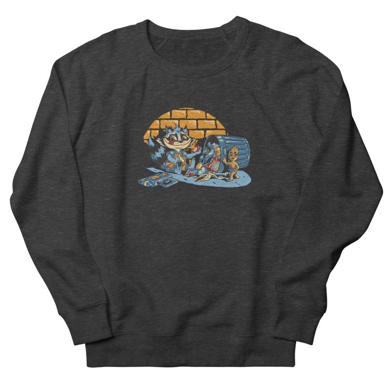 Dumpster Divers Women's French Terry Sweatshirt by bennygraphix's Artist Shop