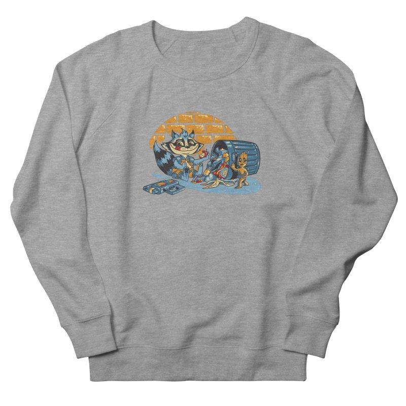 Dumpster Divers Men's French Terry Sweatshirt by bennygraphix's Artist Shop