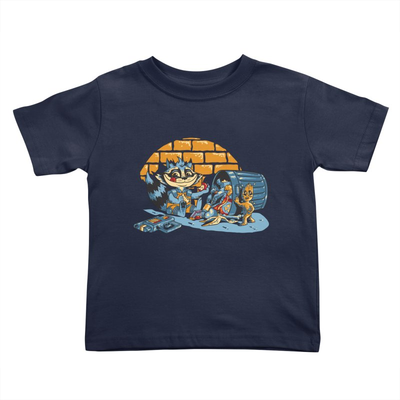 Dumpster Divers Kids Toddler T-Shirt by bennygraphix's Artist Shop