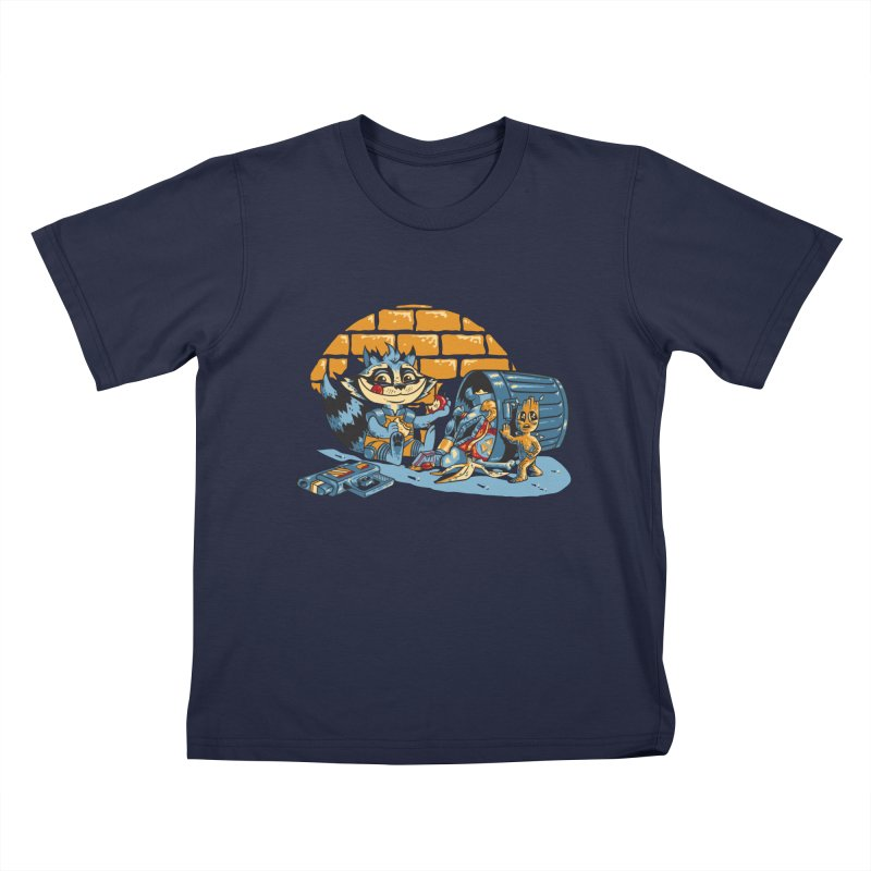 Dumpster Divers Kids T-Shirt by bennygraphix's Artist Shop