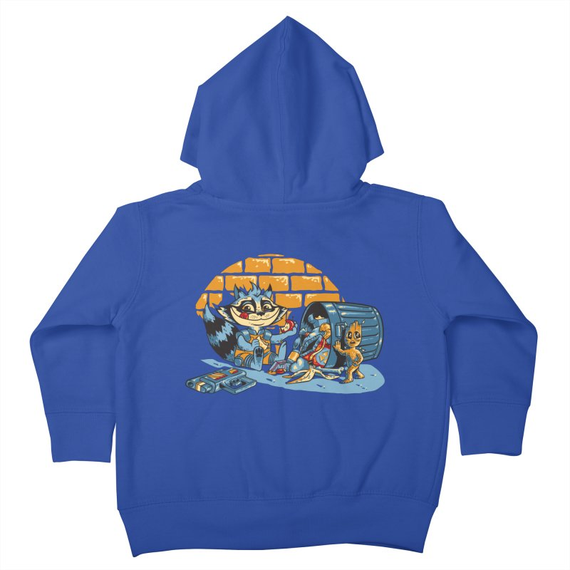 Dumpster Divers Kids Toddler Zip-Up Hoody by bennygraphix's Artist Shop