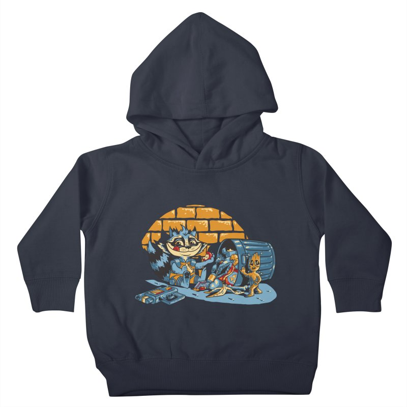 Dumpster Divers Kids Toddler Pullover Hoody by bennygraphix's Artist Shop