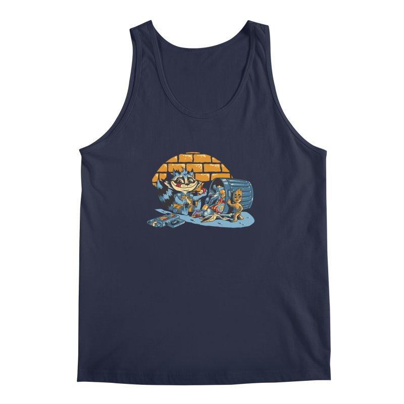Dumpster Divers Men's Regular Tank by bennygraphix's Artist Shop