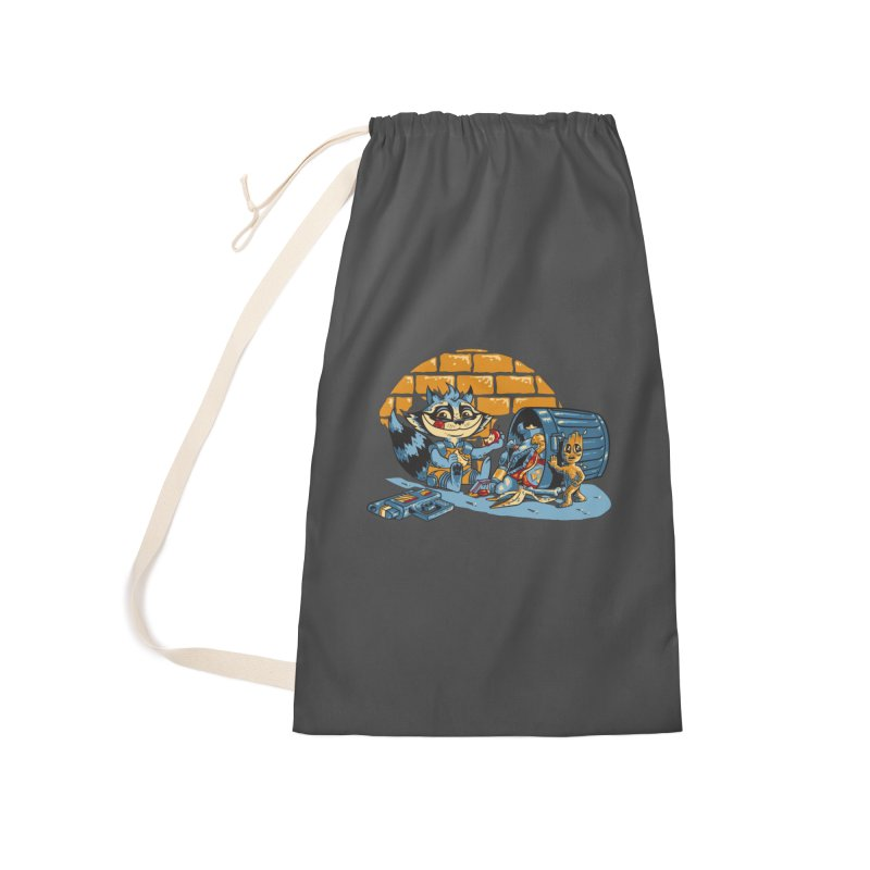 Dumpster Divers Accessories Laundry Bag Bag by bennygraphix's Artist Shop