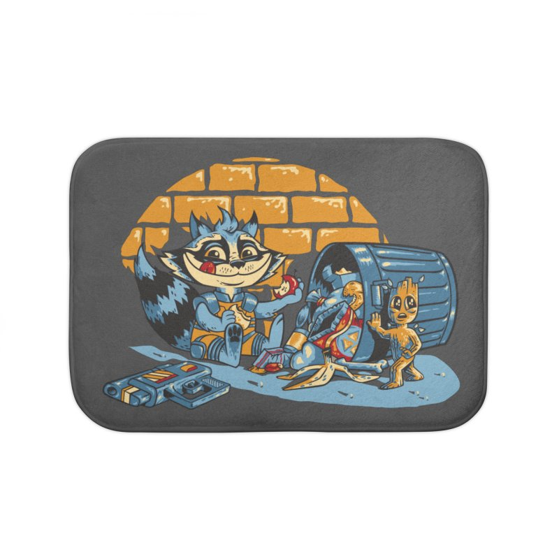 Dumpster Divers Home Bath Mat by bennygraphix's Artist Shop