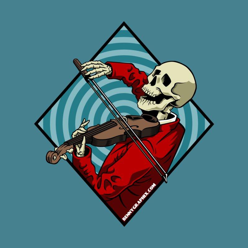 Fiddler Women's Longsleeve T-Shirt by bennygraphix's Artist Shop
