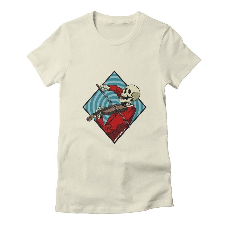Fiddler Women's T-Shirt by bennygraphix's Artist Shop