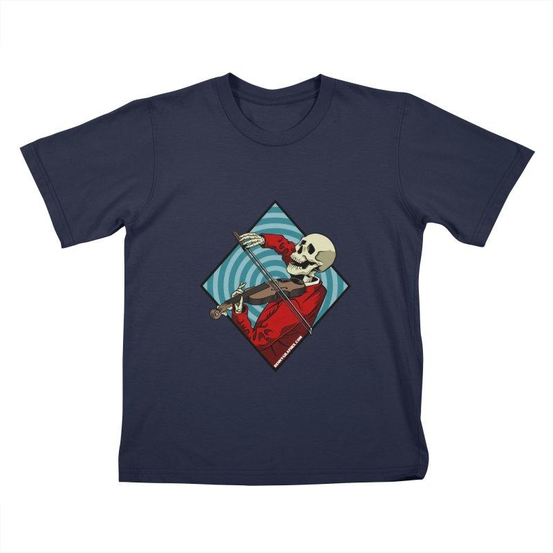 Fiddler Kids T-Shirt by bennygraphix's Artist Shop
