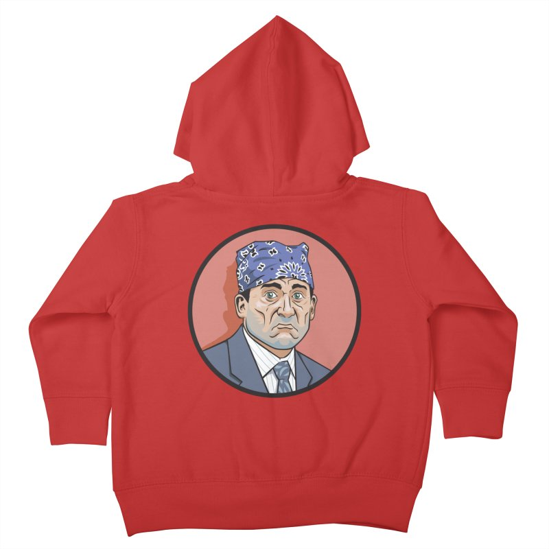 Prison Mike Kids Toddler Zip-Up Hoody by bennygraphix's Artist Shop