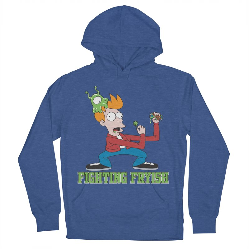 Fighting Fryish Men's Pullover Hoody by bennygraphix's Artist Shop