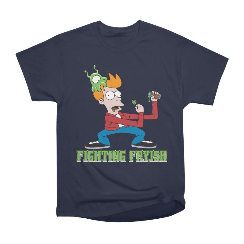 Fighting Fryish Women's Classic Unisex T-Shirt by bennygraphix's Artist Shop