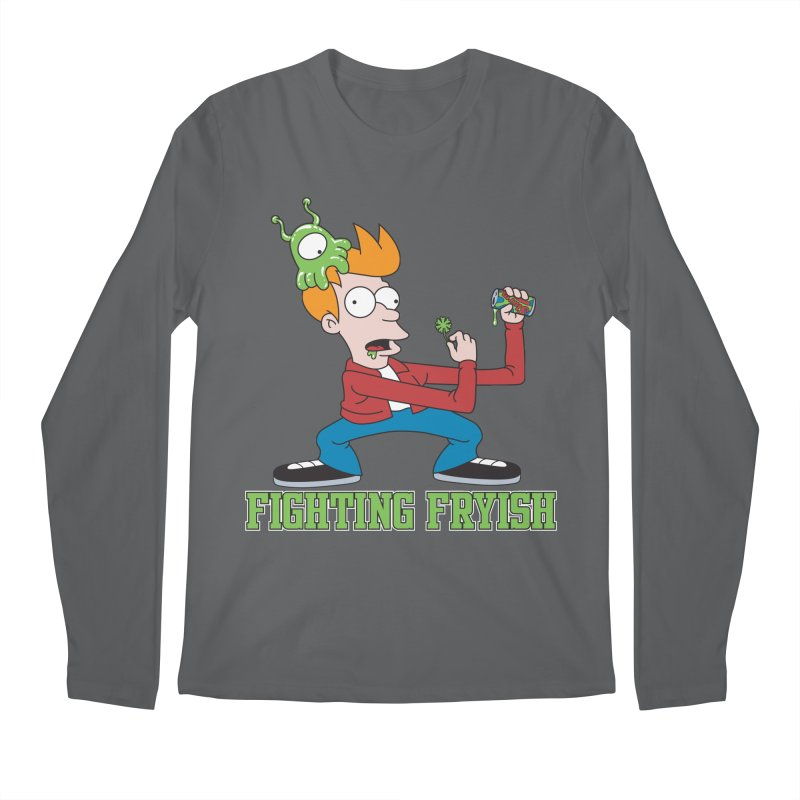 Fighting Fryish Men's Longsleeve T-Shirt by bennygraphix's Artist Shop
