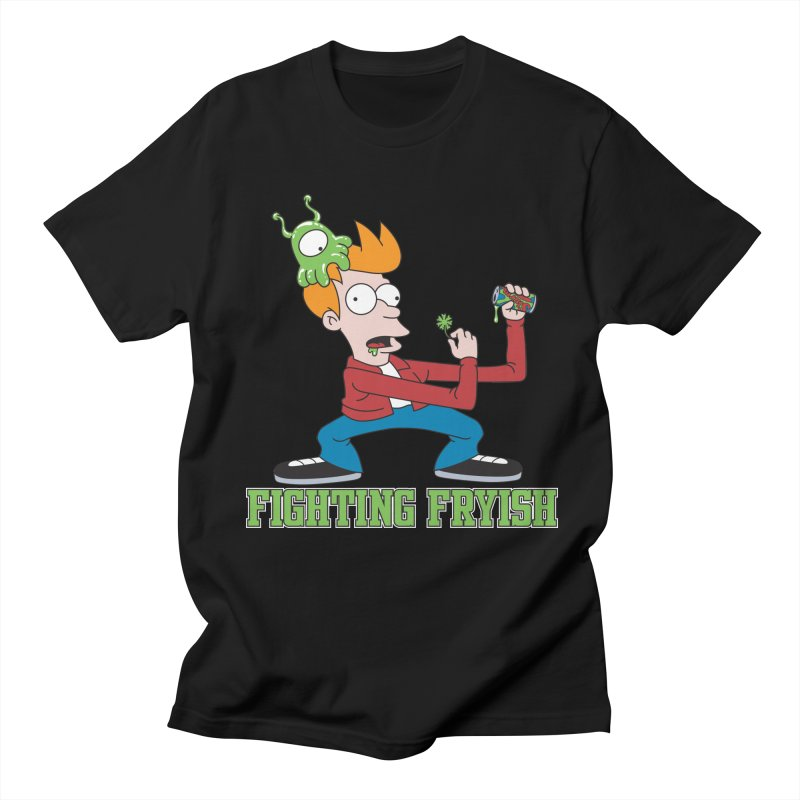 Fighting Fryish Women's Unisex T-Shirt by bennygraphix's Artist Shop