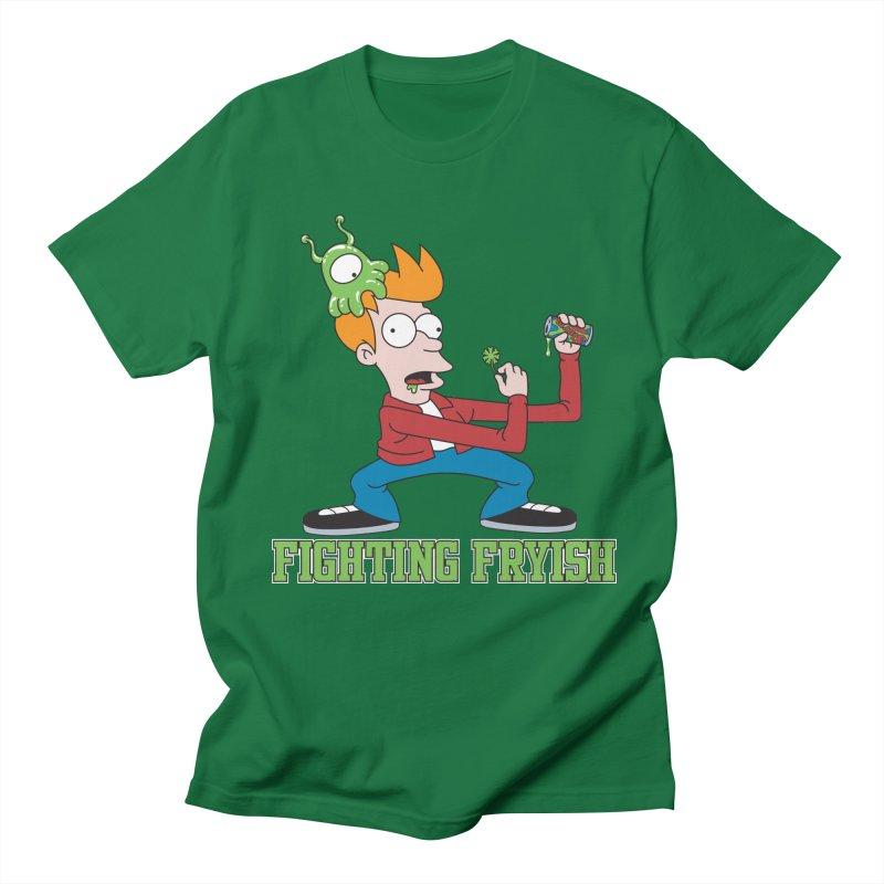 Fighting Fryish Men's T-Shirt by bennygraphix's Artist Shop