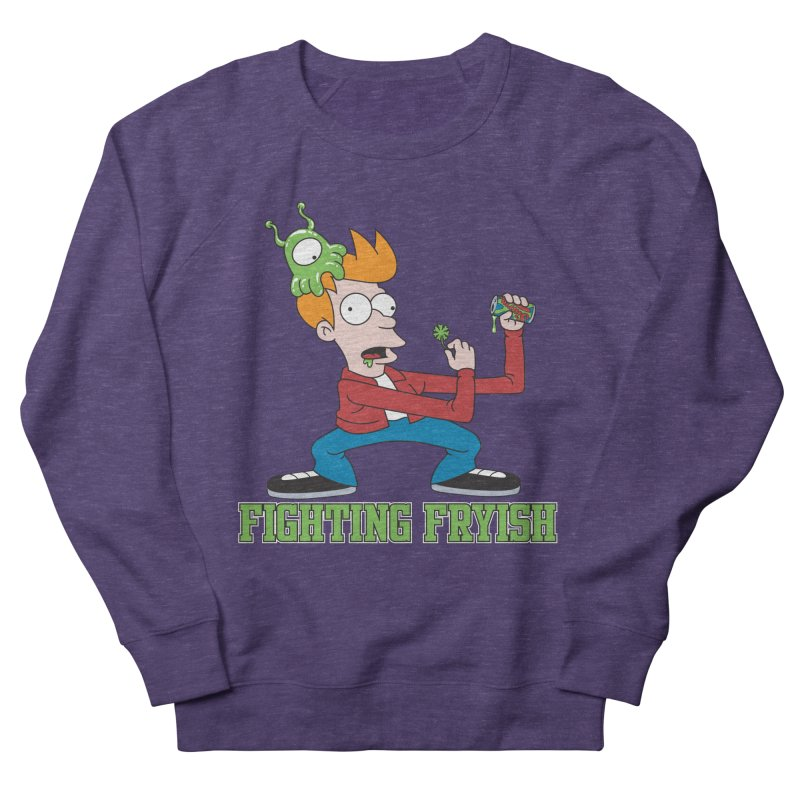 Fighting Fryish Women's Sweatshirt by bennygraphix's Artist Shop
