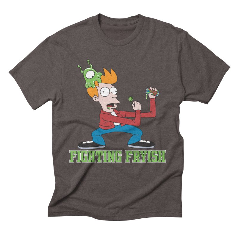 Fighting Fryish Men's Triblend T-Shirt by bennygraphix's Artist Shop
