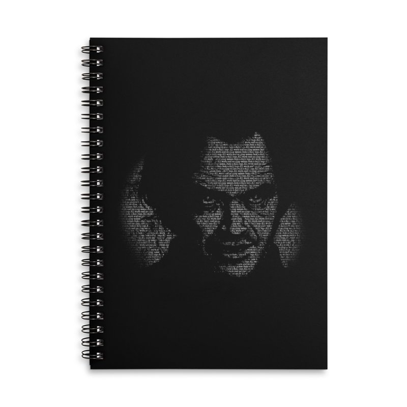 All Work and No Play Accessories Lined Spiral Notebook by bennygraphix's Artist Shop