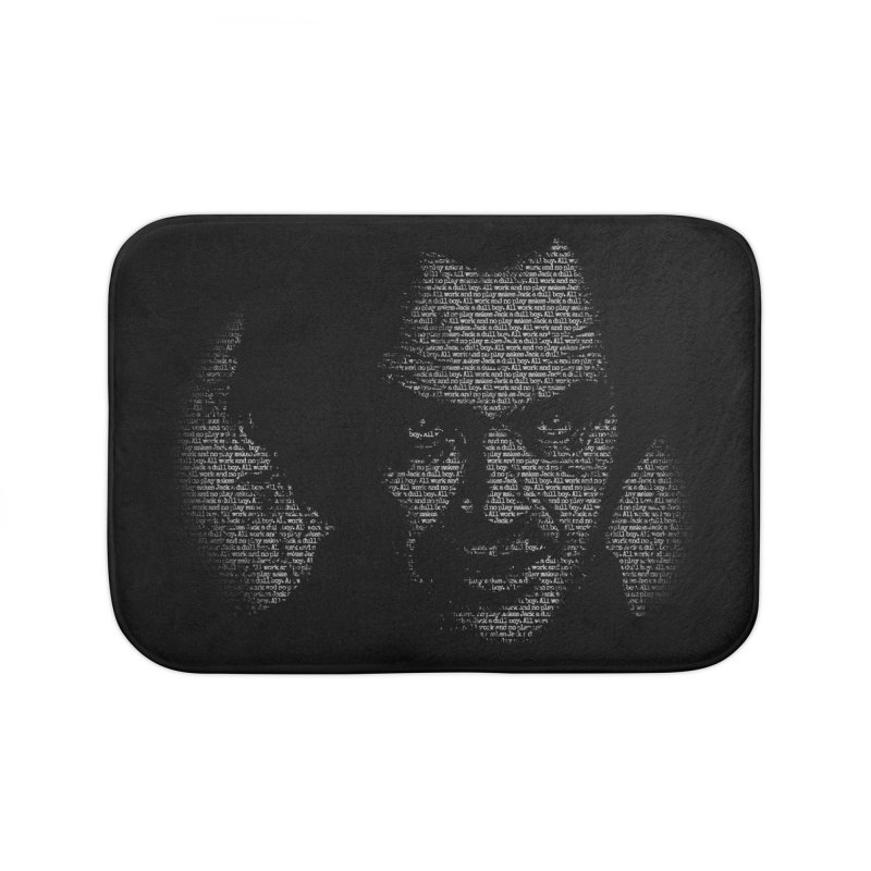 All Work and No Play Home Bath Mat by bennygraphix's Artist Shop